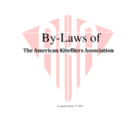 2012 By-Laws Of The American Kitefliers Association